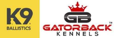 K9 Ballistics and Gatorback Kennels Logo